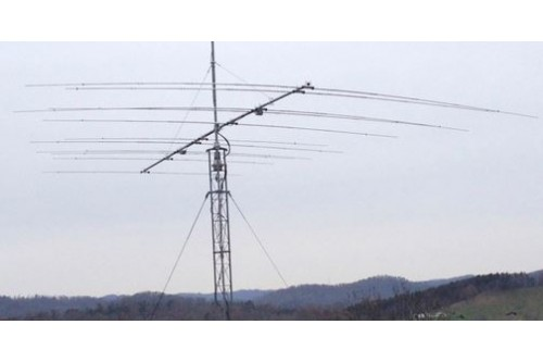 JK-Quattro - Yagi antenna of 3 elements for the 17 m band, 4
