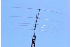 JK205 - Yagi antenna of 5 elements for the 20 m band