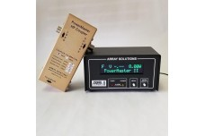 PowerMaster II - With one HF-6m 3 kW coupler N-type connector, includes USB cable, 12 V DC cable and coupler to display cable