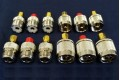 "AS-PLS-FULL - Precision calibration 12 load set, N-type and ""UHF"" female and male connectors, for AIM and VNA"