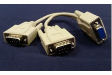 CAT-YR Cable - DB-9F to two DB-9M