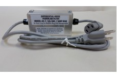 AC-7 - AC line filter with 6 ft line cord with 120 V AC NEMA standard plug and IEC receptacle for PC power supplies and other devices using IEC connectors