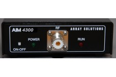 AIM-4300 - Antenna Analyzer, 5 kHz to 300 MHz. With US 120 V AC power supply. Includes calibration load set, USB A/Mini B cable and DC power cord.