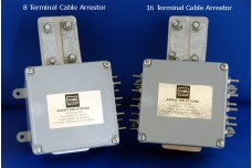 AS-8SP - Eight terminal 65 V Surge suppressor for control lines and rotators