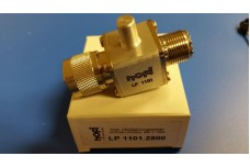 LP1101-2800- M-F ground lug SO-239, 6400 W (@ 1:1 SWR)