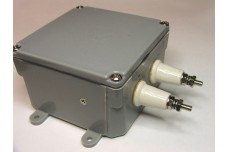 AS-25-10K-DIN - Balun 25:50 Ohms (1 to 2 ratio), 10 kW CW / 20 kW SSB, 7/16 DIN connector. 1.8 - 30 MHz