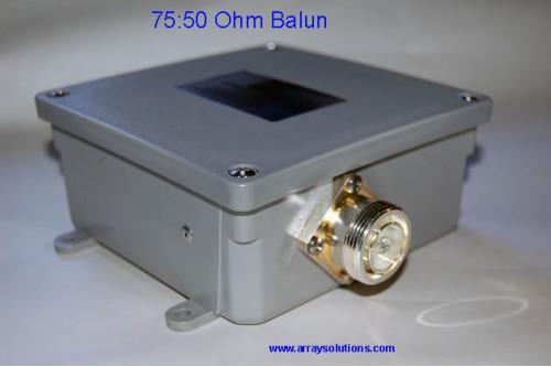 75 To 50 Ohm Balun