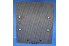DMP  Dipole Mounting Plate for AS-series baluns - for dipoles, loops, etc. - Serves as center insulator