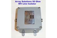 AS-50-L1N - 50 Ohms RFI Line Isolator unun, N-type connectors, 5 kW CW / 10 kW SSB, 1.8 - 30 MHz