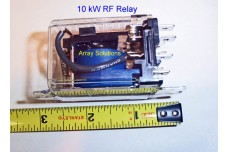 RF-10 - 10 kW RF Relay with dust cover DPDT. Discount for 10 and more.