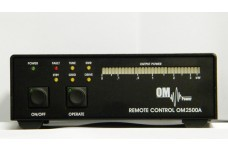 OM Power OM-4000REM - Remote Console for the OM-4000A Amplifier