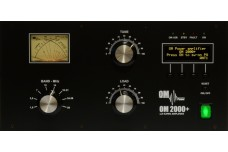 OM Power OM-2000+ -  Heavy Duty Legal Limit HF and 6 m  Manual Tune Amplifier - 160 - 6 m. Full QSK-ready.
