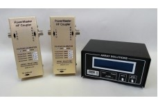 PowerMaster II 10 kW Bundle - PMII Display with Two Matched HF-6m 10 kW couplers N-type connector - perfect for SO2R power monitoring includes USB cable, 12 V DC cable and coupler to display cable
