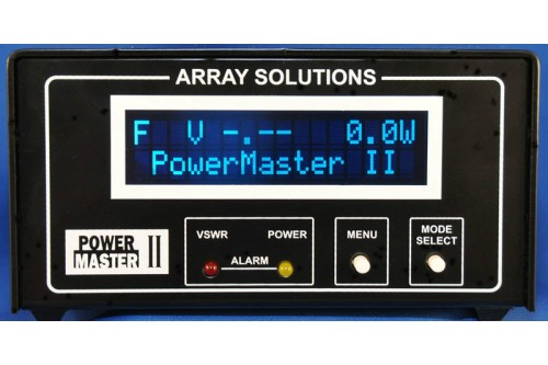 PowerMaster II - RF Power and SWR Meter for HF-VHF-UHF