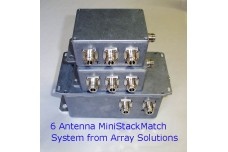 Mini StackMatch, 5 kW 3 antenna port StackMatch without relays with SO-239 connectors