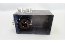 Mini StackMatch II, 10 kW 2 antenna port StackMatch without relays with 7/16 DIN connectors (CUSTOM ORDER, CALL FOR PRICE)