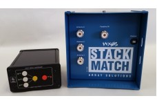 StackMatch - For three antennas, 3 kW, SO-239 connectors, with push button controller, (7-60 Mhz) - includes 6 m band