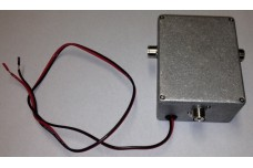 Dual Feed line Option - RF Relay box with SO-239 connector. Includes U-bolt.