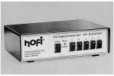 HOFI  PS2621 - RS232 / manual controller for HO600, 611, 2000, 2011 motorized remote antenna switches (can control two with one controller)