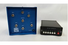 RatPak - Six antenna 5 kW  remote switch includes Push Button controller, N-type connectors