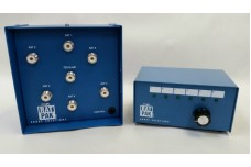 RatPak - Six antenna 5 kW remote switch includes rotary controller, SO-239 connectors