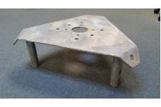 CMW45TBP - Heavy Duty Top Bearing Plate: Fits Array Solution's bearings and TB3, TB4 for Rohn 45G Tower or other 45G clones such as Nello, etc