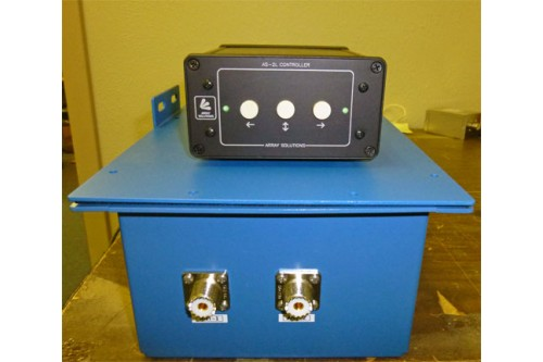 AS-2L-80 - Two phased vertical antennas array control system for 80