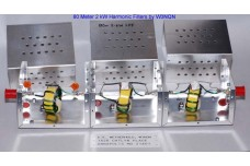 W3NQN Design 160m 2 kW single band high power harmonic filter